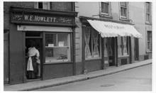 Billy Howlett's fish shop on the north side of Market Street, North Walsham