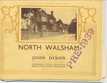 Booklet to advertise John Dixon's estate agents.