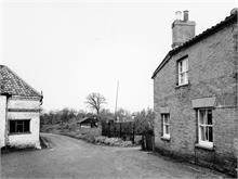 Catspit Lane, North Walsham. 24th December 1959.