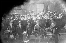 Charabanc in North Walsham Market Place