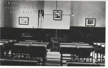 Classroom in Paston Grammar School.