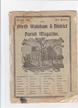 The cover of the 1903 parish magazine showing population of N.W and the surrounding villages