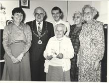 Good Companions Club celebrate the 100th birthday of one of its members
