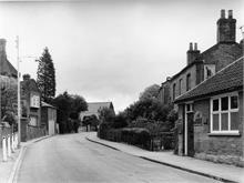 Grammar School Road, North Walsham. 2nd July 1962.