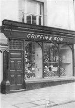 Griffin's Cycle Shop on Market Street, North Walsham.