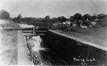 Honing Lock, also called Dilham Lock, on the North Walsham-Dilham Canal. Ling collection.