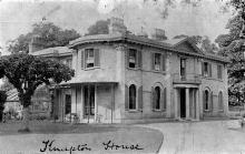 Knapton House in the early 1900s