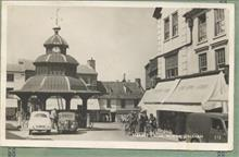 Market Place North Walsham about 1950.