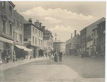 Market Place North Walsham, looking east.