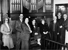 Methodist Church, Grammar School Road, North Walsham - Dedication of new Organ