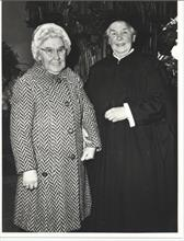 Miss Annie Withers with Miss W Smith.