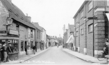 Nelson Street, North Walsham (now Mundesley Road).