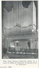 New Organ by Norman and Beard Ltd. of Norwich