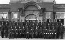 Norfolk Constabulary North Walsham Division 1937.