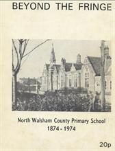 North Walsham County Primary School Manor Road. Victorian buildings.