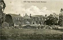 North Walsham Girls' High School buildings photographed in 1931