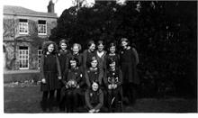 North Walsham Girls' High School netball team 1931 (Contributed by Carol Needham)
