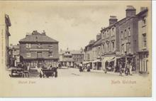 North Walsham Market Place in 1890's