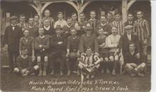 North Walsham Oldcrocks and Town Football Teams.