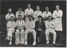 North Walsham Saturday Cricket team in the 1950's
