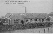 North Walsham Steam Laundry, Laundry Loke, North Walsham.