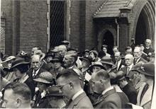 Opening of the new Methodist Church Hall in Grammar School Road