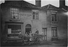 Overton's Bakery (later Fayers), Nelson Street, North Walsham. Later 19 Mundesley Road