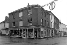 R. Edmond & Son, North Walsham Market Place at Christmas time in.