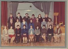 Staff of N.W.G.H.S in 1977