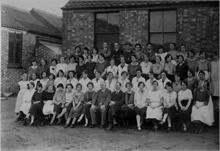 Staff of North Walsham Steam Laundry
