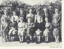 Teaching Staff, Manor Road Primary School 1962.