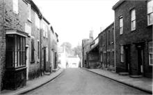 Vicarage Street, North Walsham, looking downhill