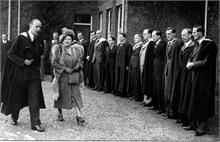 Visit of Queen Elizabeth to Paston Grammar School