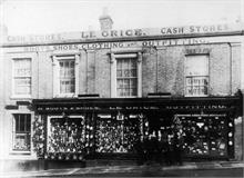 W.A.Le Grice, Drapers, etc., 28 Market Place, North Walsham.