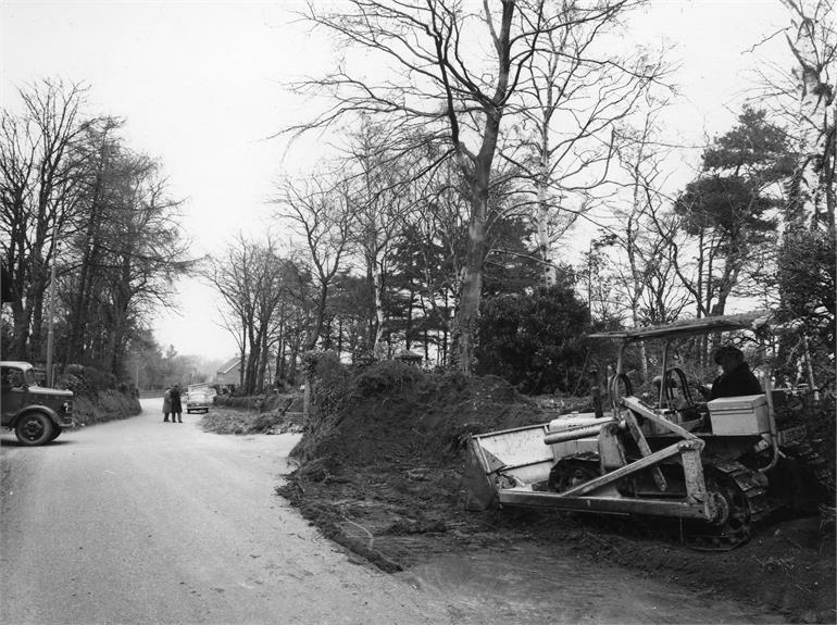 Photograph. Bacton Road c1960 (North Walsham Archive).