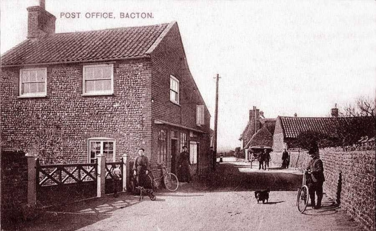 Photograph. Bacton Post Office (North Walsham Archive).