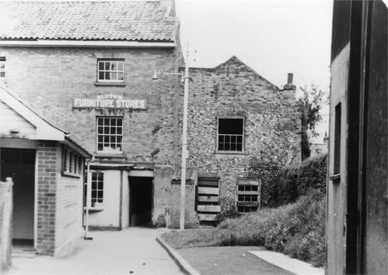 Photograph. The Butchery, North Walsham (North Walsham Archive).