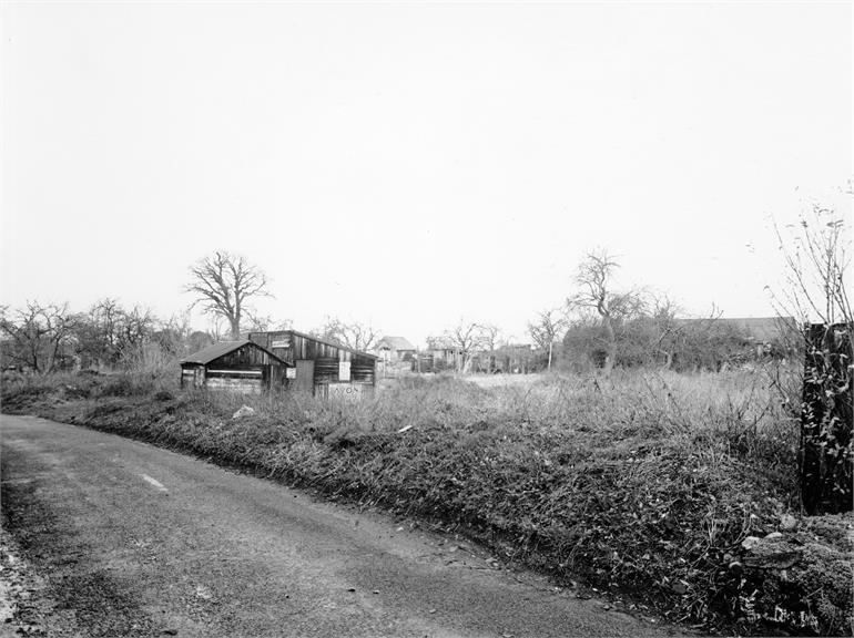 Photograph. Catspit Lane, North Walsham. 24th December 1959. (North Walsham Archive).