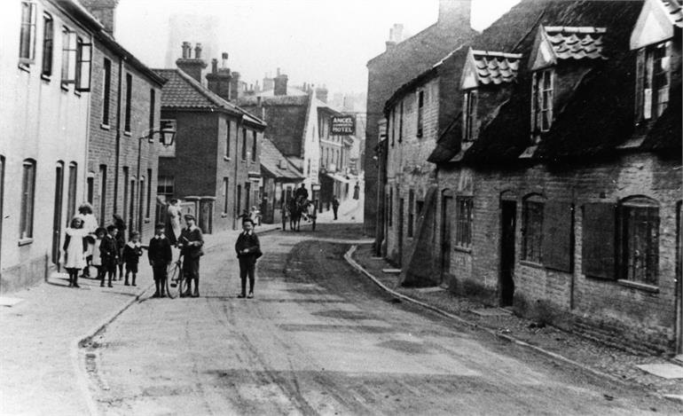 Photograph. Cromer Road, North Walsham (North Walsham Archive).