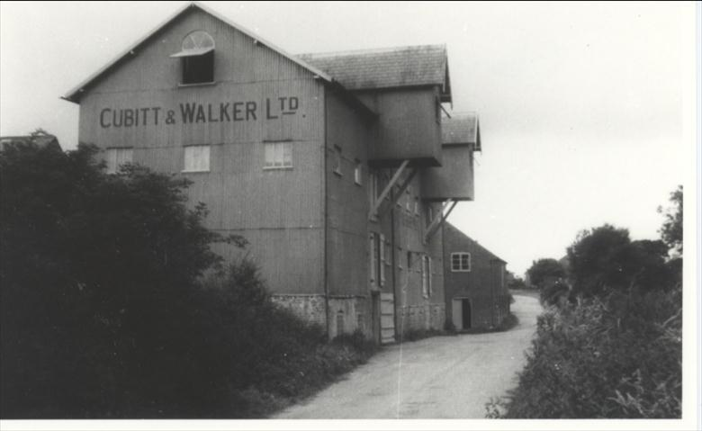 Photograph. Cubitt and Walker Ltd, Briggate Mill. (North Walsham Archive).
