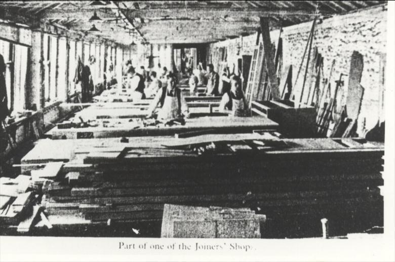 Photograph. The Joiners' Shop, Cornish and Gaymer. (North Walsham Archive).