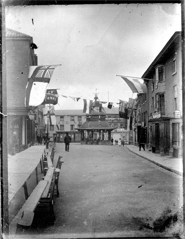Photograph. King Edward VII Coronation Celebrations (North Walsham Archive).