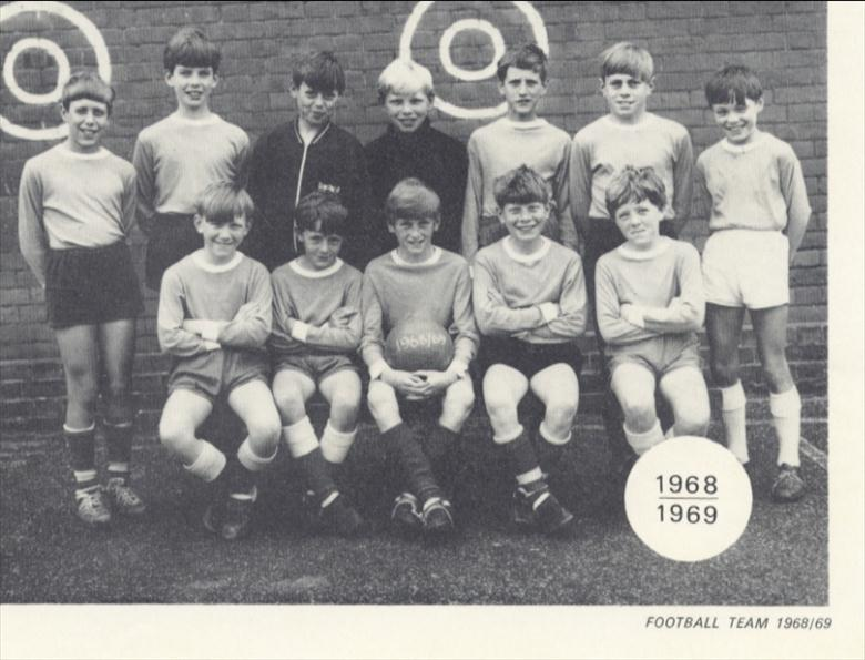 Photograph. Manor Road Primary School Football Team 1968 .. 69 (North Walsham Archive).