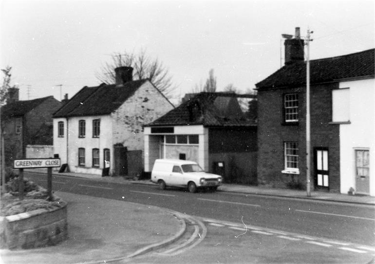 Photograph. Mundesley Road, North Walsham (North Walsham Archive).