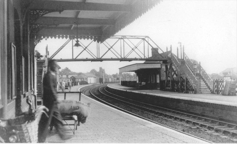 "Photograph. North Washam ""Town"" station (North Walsham Archive)."