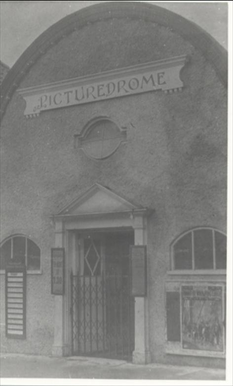Photograph. The Picturedrome, King's Arms Street. (North Walsham Archive).