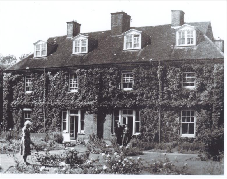 Photograph. Rear of Croylands, Yarmouth Road. (North Walsham Archive).