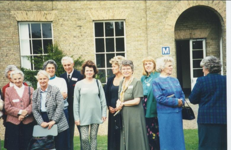 Photograph. Reunion N.W.G.H.S. 1996 (North Walsham Archive).