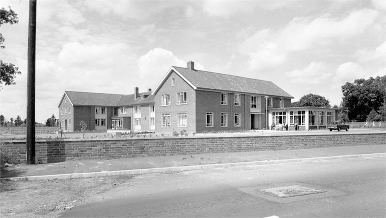 Photograph. Rose Meadow Care Home, Yarmouth Road, North Walsham - 1965 (North Walsham Archive).