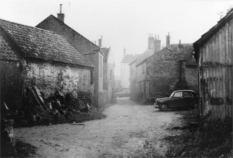 Photograph. Ship Yard, North Walsham (North Walsham Archive).